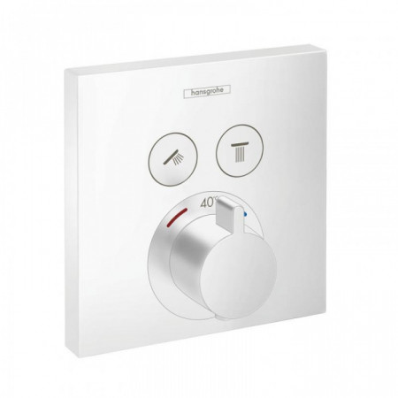 Baterie dus termostatata Hansgrohe ShowerSelect incastrata