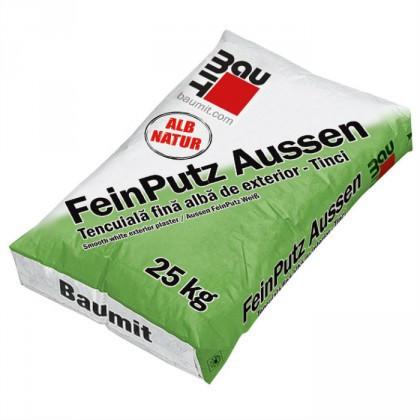 Baumit FeinPutz Aussen - Tencuiala fina alba de exterior (Tinci) 40 Kg. 25 kg