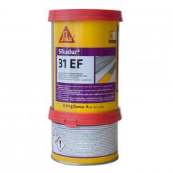 Adeziv epoxidic bicomponent, Sikadur 31 EF, gri, interior / exterior, 1.2 kg