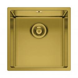 Chiuveta inox ASTRIS COLORA 40x40 1B Gold