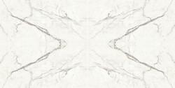 Decor Marvel Shine Statuario Supremo 75x150 Lappato Macchia Aperta
