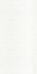 Faianta Synergy Bianco Inserto, Paradyz Ceramica, alba, lucioasa, 30x60 cm