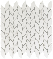 Marvel Stone Carrara Pure Twist Mosaic 30,5x30,5