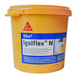 Masa de spaclu flexibila din bitum-cauciuc pentru hidroizolatii Sika Igolflex N 25 kg