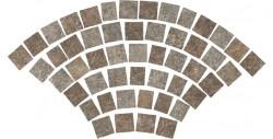 Mozaic Dolmen Pro Porfido Mix Coda di Pavone tip pavaj, Atlas Concorde