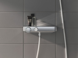 Baterie dus Grohe Grohtherm SmartControl termostatica cu set dus Euphoria