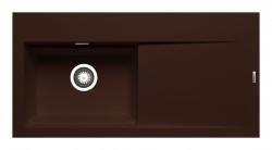 Chiuveta granit TEKTON 100x51 1B 1D ST Chocolate
