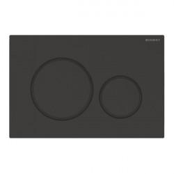 Clapeta actionare rezervor incastrat Sigma 20 negru mat lacuit-negru easy to clean