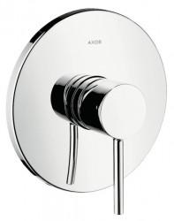 Baterie de duș cu corp incastrabil Chrome Axor Starck