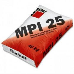 Baumit MPI 25 - Tencuiala var-ciment 40 Kg