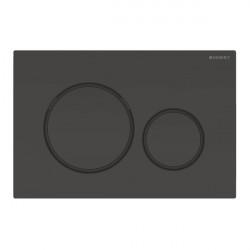 Clapeta actionare rezervor incastrat Sigma 20 negru-mat