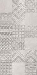 Faianta Harmony Grys Patchwork, Paradyz Ceramica, gri, 30x60 cm