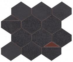 Mozaic BLAZE Iron Mosaico Nest Matte