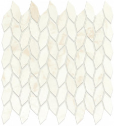 Mozaic Marvel Shine Calacatta Delicato Mosaico Twist Silk 30,5x30,5