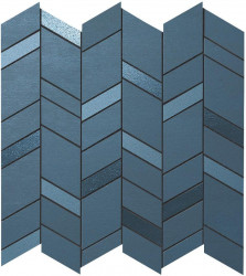 Mozaic MEK Albastru, Chevron, 30,5x30,5 cm