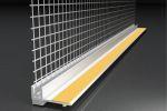 Profil PVC cu plasa pentru ferstre si usi, 2.4m/buc