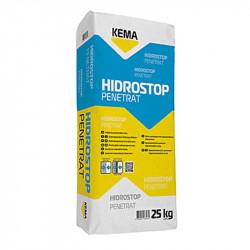 Hidroizolatie pe baza de ciment cu actiune prin cristalizare Hidrostop Penetrat 25kg