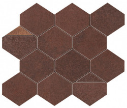 Mozaic Corten Iron Mosaico Nest Matte