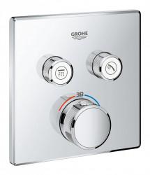 Baterie dus Grohe Grohtherm SmartControl termostatica patrata