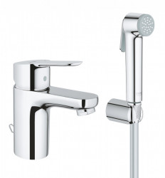Baterie lavoar Grohe BauEdge Hygienica S cu dus igienic