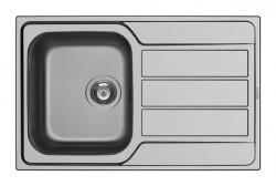 Chiuveta Inox ATHENA 79x50 1B 1D SM