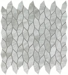 Marvel Stone Bardiglio Grey Twist Mosaic 30,5x30,5