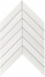 Marvel Stone Bianco Dolomite Chevron Wall 30,5x25
