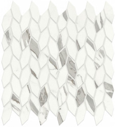 Mozaic Marvel Shine Statuario Supremo Mosaico Twist Silk 30,5x30,5