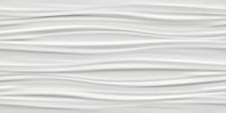 3D Ribbon White Matt 80
