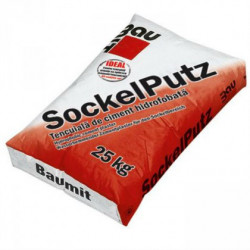 Baumit SockelPutz - Tencuiala de ciment hidrofobata 25 Kg