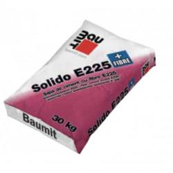 Baumit Solido E225 + Fibre - Sapa de ciment cu aplicare manuala si mecanizata 40kg
