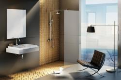 Cabina de duș Walk-in, model Wall