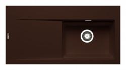 Chiuveta granit TEKTON 100x51 1B 1D DR Chocolate