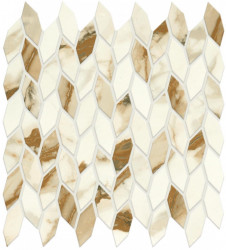 Mozaic Marvel Shine Calacatta Imperiale Mosaico Twist Silk 30,5x30,5
