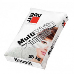 Baumit MultiWhite - Mortar alb universal pentru renovare