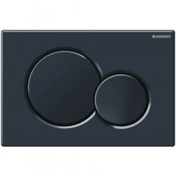 Clapeta de actionare apa WC, Geberit Sigma 01, finisaj negru