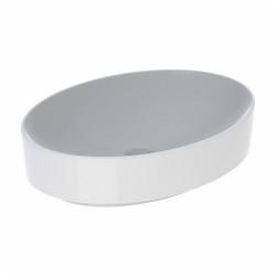 Lavoar pe blat Geberit Variform oval fara preaplin 55 x 40 cm