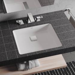 Lavoar sub blat Grohe Cube Ceramic cu PureGuard 50x37 cm