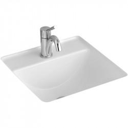 Lavoar sub blat Villeroy & Boch, Loop & Friends, 41 cm, alb alpin