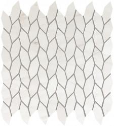Marvel Stone Bianco Dolomite Twist Mosaic 30,5x30,5