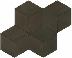 Mosaic Bronze Mosaico Esagono 30x35 cm