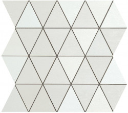 Mozaic MEK Alb, Diamond Wall, 30,5x30,5 cm