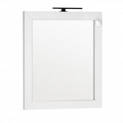 Oglinda cu iluminare si priza Oristo Wave 80x90 cm