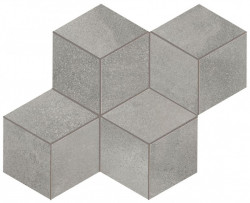 Blaze Aluminium Mosaico Hexagon Mat Atlas Concorde