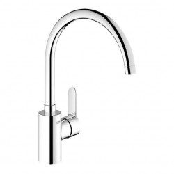 Baterie bucatarie Grohe Eurostyle Cosmopolitan cu pipa rotativa inalta