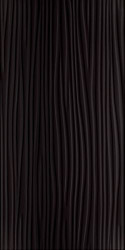 Faianta Synergy Nero Sciana A, Paradyz Ceramica, neagra, lucioasa, 30x60 cm