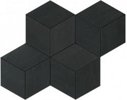 Mosaic Dark Mosaico Esagono 30x35 cm