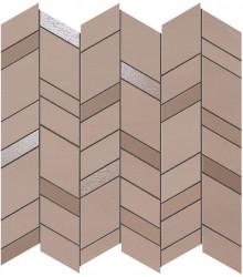 Mozaic MEK Rose, Chevron, 30,5x30,5 cm