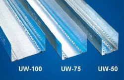 Profil UW75 - 0.5mm