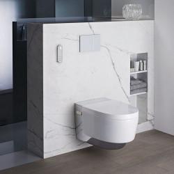 Vas wc suspendat Geberit Aquaclean Mera Comfort alb alpin cu functie de bideu electric